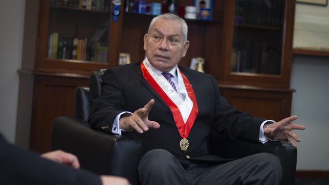 ENTREVISTA AL GENERAL DE BRIGADA ALONSO LEONARDO ESQUIVEL CORNEJO, PRESIDENTE DEL FUERO MILITAR POLICIAL