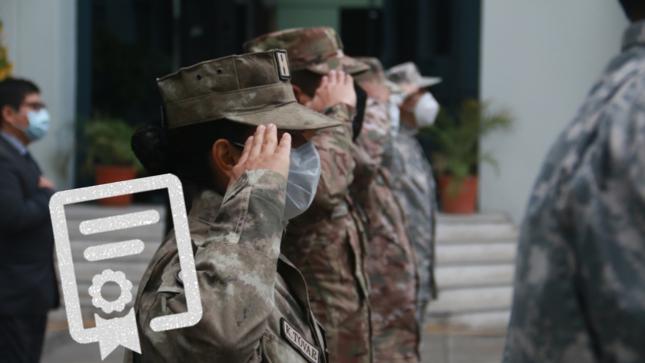 Se reinicia la entrega de certificados de antecedentes penales del Fuero Militar Policial