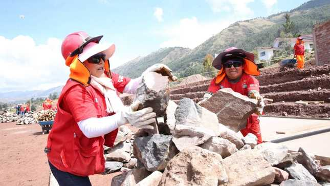 MTPE: Trabaja Perú y asociaciones municipales articulan acciones para generar 226 mil empleos temporales