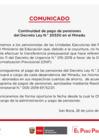 Vista preliminar de documento Comunicado: Continuidad de pago de pensiones del Decreto Ley N.° 20530 en el Minedu