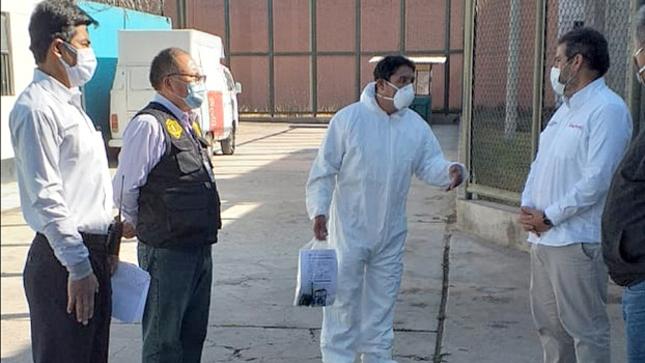 MINJUSDH entrega equipos de bioseguridad en el penal de Ayacucho y participa en actividades en favor de las víctimas del terrorismo