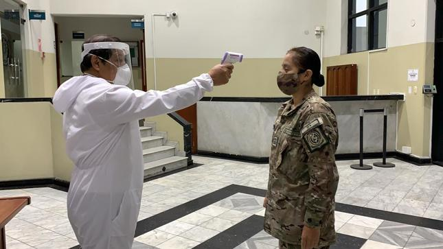 Bajo estrictas medidas sanitarias se normalizan gradualmente las actividades administrativas en sedes del Fuero Militar Policial
