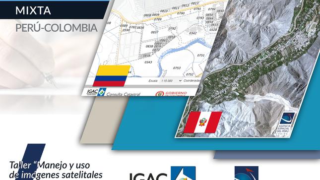 PERÚ Y COLOMBIA FORTALECEN CONOCIMIENTOS DE TECNOLOGÍAS SATELITALES