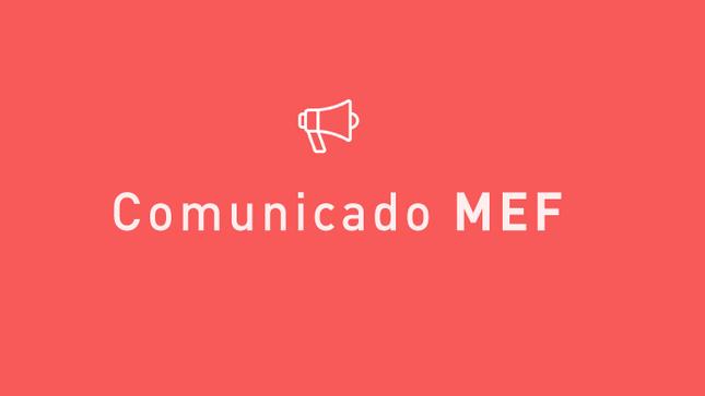 MEF presenta la Cuenta General de la República del 2019