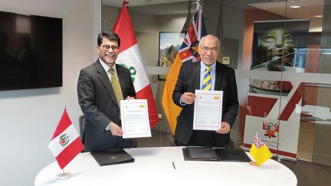 El Perú y Niue establecen relaciones diplomáticas