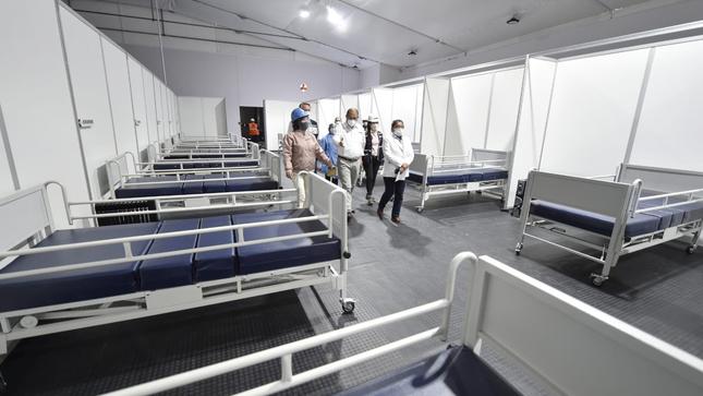 Minsa prepara puesta en funcionamiento de 346 camas para la lucha contra el COVID-19 en Arequipa