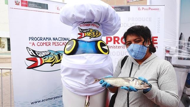 Produce: Pescadores artesanales y acuicultores comercializaron 23 toneladas de pescado en Lima y regiones