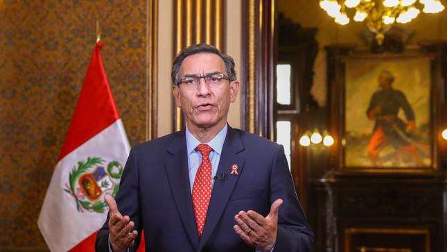 Jefe de Estado anuncia proyecto que impide a sentenciados postular a cargos públicos y referéndum sobre eliminación de inmunidad parlamentaria