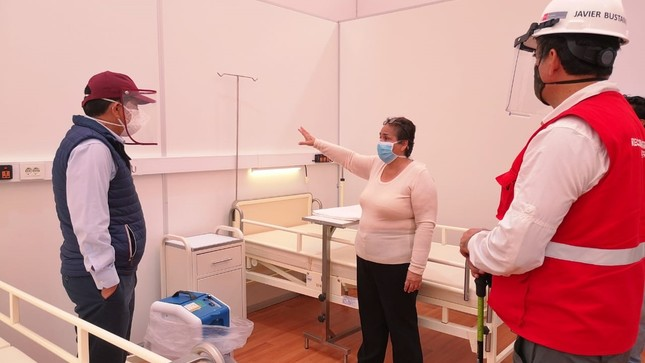 Ambiente de Hospitalización Temporal entra en su última etapa de implementación