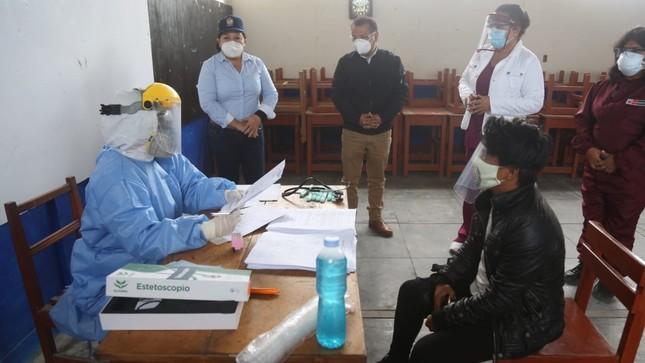 Más de 500 salaverrinos pasaron por control médico comunitario Covid-19