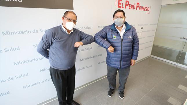 Minsa instalará en Apurímac ambientes temporales para hospitalizar a 100 pacientes COVID-19