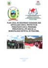 Vista preliminar de documento PLAN LOCAL SEGURIDAD CIUDADANA 2020