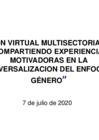 Vista preliminar de documento REUNIÓN VIRTUAL MULTISECTORIAL 2020