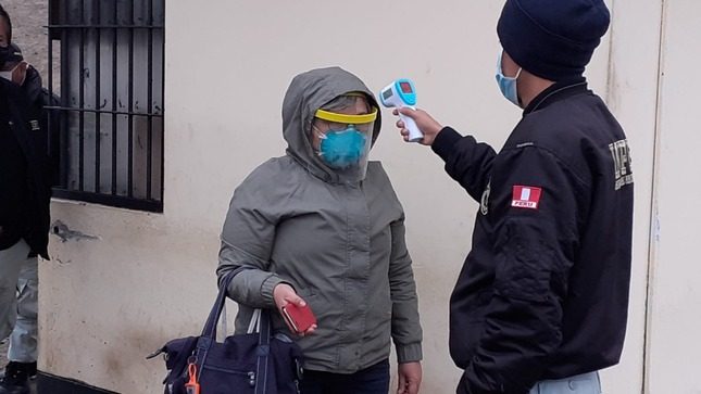Penal Huaral: establecen protocolos de salud a trabajadores que retornan a sus labores