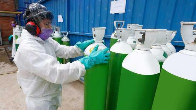 Minsa concretó incorporación de 104.9 toneladas diarias de oxígeno medicinal para los hospitales del país