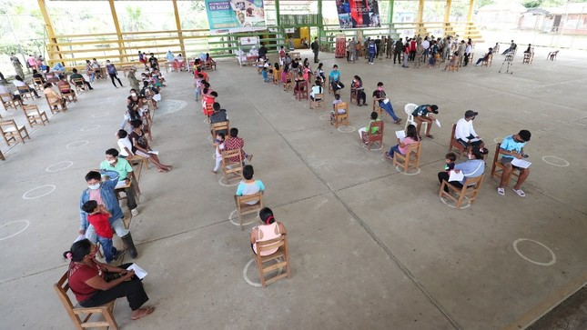 Pobladores de siete comunidades nativas de Loreto recibieron atención médica y pasaron prueba COVID-19