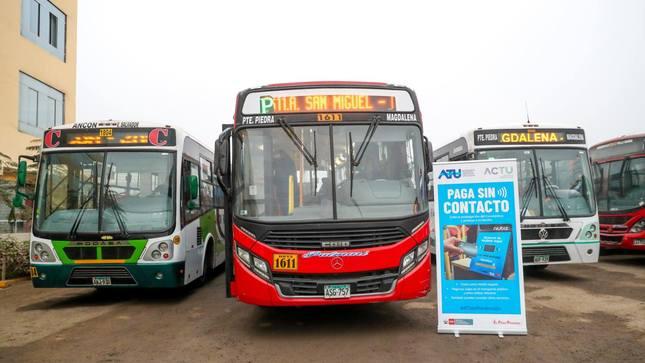 ATU publica reglamento para el otorgamiento del subsidio económico a los prestadores del servicio de transporte terrestre